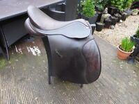Brown barnsby saddle