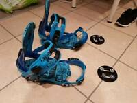 Ride Revolt Bindings - Blue