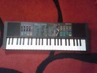 Yamaha Portasound PSS-270 portable electronic keyboard voice bank synthesizer synth piano organ boxd