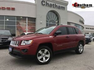 2012 Jeep Compass SPORT/NORTH/VERY LOW KMS/ONE OWNER/$56 WKLY