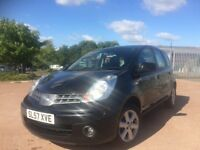 2007 Nissan Note 1.4 5 door MPV mot until March 19 ideal family car