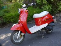 Direct Bikes DB50T-A 50cc Scooter. Recommission or for spares