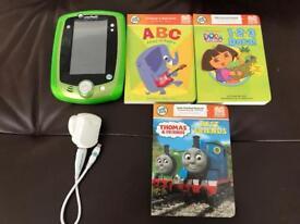 Leapfrog LeapPad2 Explorer + Gel Skin, Toy Story Game & 3 Books