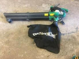 Electric 240v leaf blower garden tools for collecting leaves