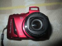 cannon photo shot sx150is in red with camera bag £60