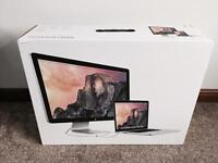"""APPLE THUNDERBOLT DISPLAY 27"""" MC914BB, FOR USE WITH IMAC OR MACBOOK, BOXED MINT CONDITION, FAULTY."""