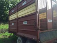 Herron silage / grain trailer