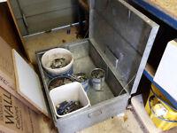 tool safe, site box, kit storage, galvanised, weatherproof, durable, lockable