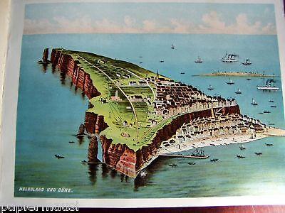Helgoland  Album - Nordseeinsel Deutsche Bucht um 1910 Schleswig-Holstein