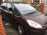 57 plate C4 Picasso- swap for van- read ad