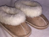 Baby Warm Winter house shoes size 4,5