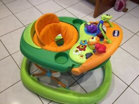 Musical activity sit-in baby walker