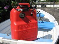 Suzuki Outboard External / Remote Fuel Tank Line & Primer Bulb
