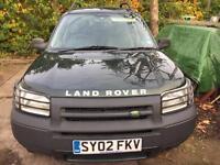 Land Rover freelander td4 11months MOT