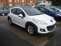 PEUGEOT 207 1.6 HDi 112 Outdoor 5dr (white) 2010