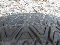 vauxhall astra 1700 cdti spare wheel