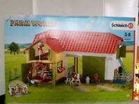 Schleich Playsets Bundle Brand New in box