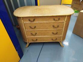 Wicker dressing table
