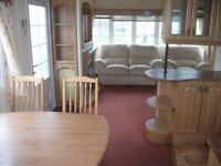 CHEAP static caravan for sale/2.3K SITE FEE/Double glazed/Gas central heating/freestanding furniture