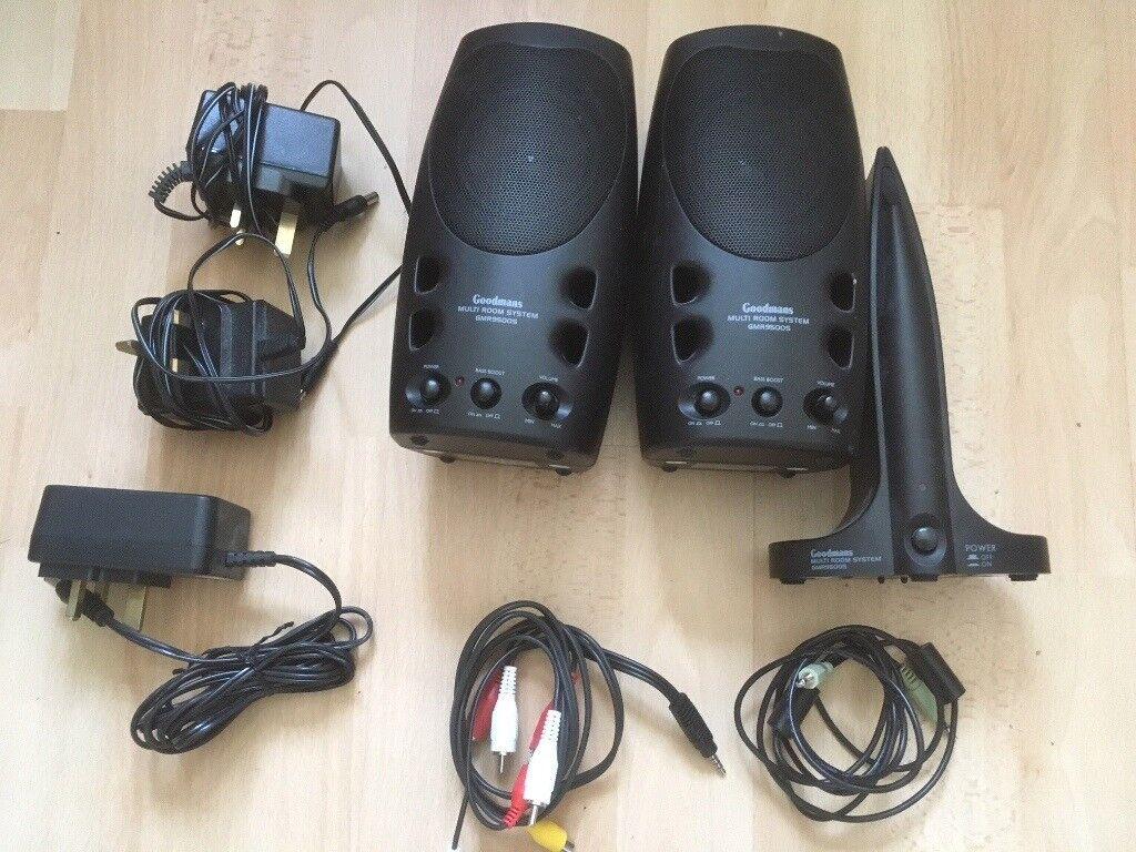 Goodmans Multi Room Stereo Speakers In Northampton Wiring Speaker System