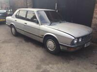 Bmw e28 518i m10 silver breaking spares 5 series
