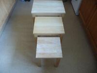 John Lewis stacking tables