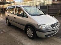 Vauxhall zafira 1.6, 7 seater, family car ,just reduced price ......low milge 85000