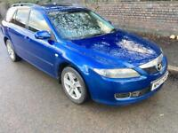 Mazda6 2.0 TD TS 5dr cheap car, long mot 2007 (07 reg), Estate
