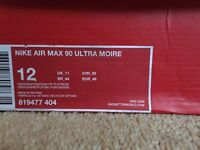 Nike Air Max 90 Ultra Moire - Obsidian Blue Size UK 11