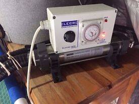 Famous lecro 800 Series 3 KW swimming Pool or pond heater For Sale Watch Live Video £150
