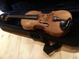 Violin by Thomas Craig, Aberdeen 1900 c