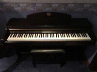 YAMAHA Clavinova CLP-920 Digital Piano - Excellent Condition - Stool & Manual Inc. - Dark Mahogany