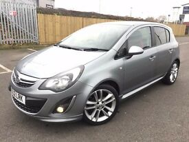 2012 (Jul 12) VAUXHALL CORSA 1.2 VVT SXi - 5 Doors Hatchback - Petrol - Manual - SILVER *1 OWNER*