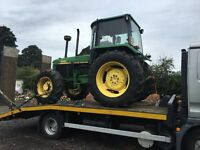 TRACTOR, FORKLIFT, MINI DIGGER, 4X4 TRANSPORT, MOVING / COLLECTION OR DELIVERY SERVICE