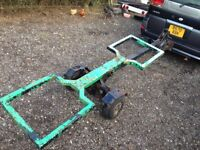 Car Dolly / Transporter / Self Recovery useful tool to have - Good Condition / trailer /2wheels
