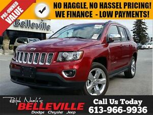 2016 Jeep Compass High Altitude-Remote Start,Sunroof