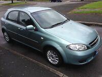 2007 07reg Lacetti 1.6 SX 46,300 miles FSH 5 Door MOTd Alloys AC CD HPiClear £1099 Top Value Daewoo