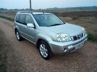 2006 Nissan X Trail 2.2 DCi Columbia 4x4 Silver Diesel 6 Speed Panoramic Sunroof Towbar