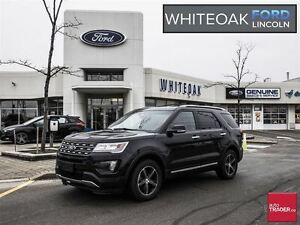 2016 Ford Explorer Limited, CERTIFIED PRE-OWNED