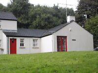 2 bedroom house to let in Plumbridge, Omagh. Minimum 6 month contract. OFCH.