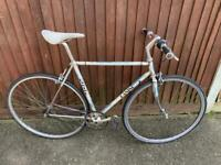 Fixie single speed bike