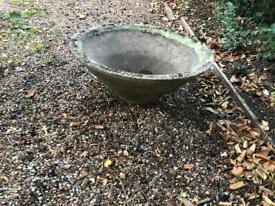 Very large garden pot