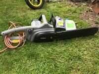 Titan Chainsaw with 2 bottles of Chain Oil