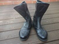 Akito motorcycle boots for sale.