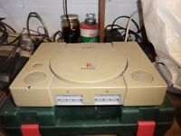 Sony Playstation 1 and 9 Games