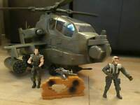 Army Helicopter With Figures