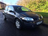 Renault Megane 1.5 dCi Oasis 3dr MOT MARCH 2018 + £30 YEARS TAX 2006