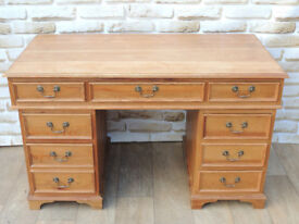 Country solid wooden desk (Delivery)