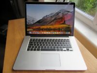 "Apple Macbook Pro 15"" 2015 Mint Condition"