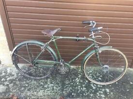 Barn Find Vintage 1973 Raleigh Sports Gents Bike For Restoration.